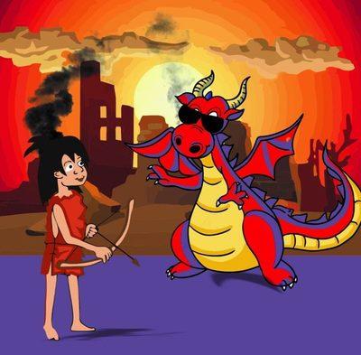 Demos y el dragón