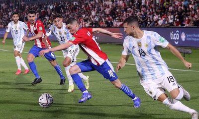 Paraguay suma un punto tras empate ante Argentina