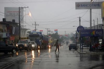 Meteorología pronostica lluvias en varias zonas del país que continuarían el fin de semana