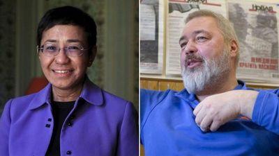 El Premio Nobel de la Paz fue otorgado a los periodistas Maria Ressa y Dmitry Muratov de Filipinas y Rusia