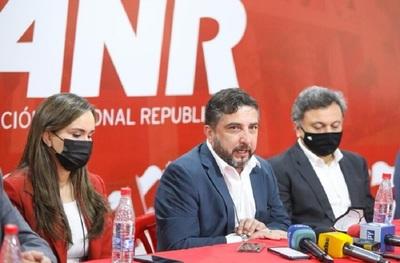 Según apoderado de la ANR hay una violencia instalada hacia el partido