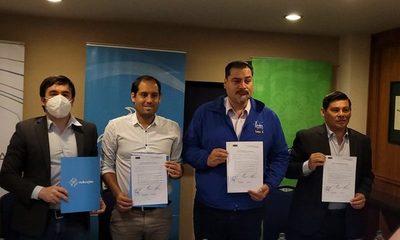 Cambra, Airaldi y Ever Roas firman compromiso de transparencia en CDE – Diario TNPRESS