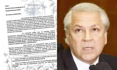 Sindicatos declaran persona no grata al Gerente Ejecutivo Fernando Bittinger en Fundación Tesãi – Diario TNPRESS