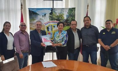 Gobernación aporta G. 50 millones para festival por aniversario de Pdte. Franco – Diario TNPRESS