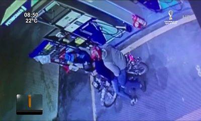 Playera frustró asalto en Luque