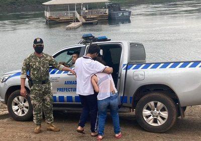 Recuperan del río Paraná cadáver del niño de 2 años que había caído al arroyo Acaraymí – Diario TNPRESS