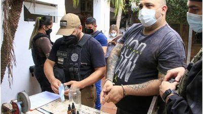 """No está """"todo biento"""", detienen a Pedro Lerea por venta de drogas"""