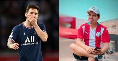 Messi apoya a Juan Ríos