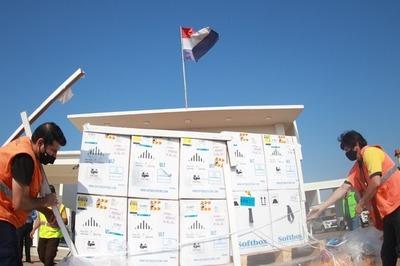 Arribaron al Paraguay más de 84.000 dosis de la vacuna Pfizer