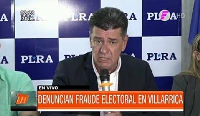 PLRA denuncia fraude electoral ante Observadores de la OEA