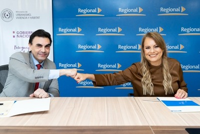Banco Regional, MUVH y la AFD financian el sueño de la casa propia