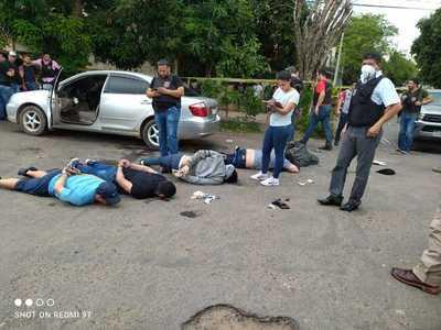 Frustran asalto al ex senador Luis Alberto Wagner en Asunción, hay seis detenidos y uno de ellos está herido