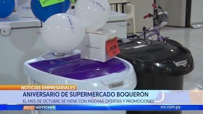 Aniversario del Supermercado Boquerón
