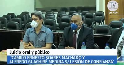 La Nación / Corte declaró prescripción y ordenó sobreseimiento definitivo de Camilo Soares y Alfredo Guachiré
