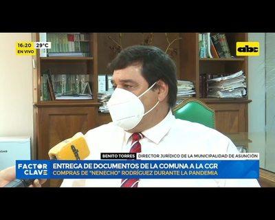 Despilfarro de Nenecho: Municipalidad espera cumplir plazo para presentar informe a Contraloría