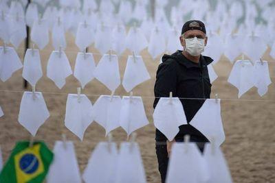 Brasil supera los 600.000 muertos por covid