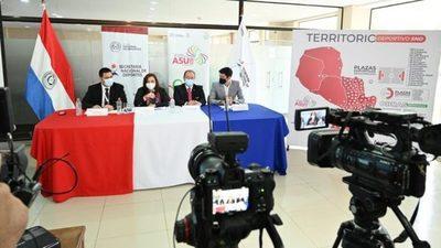 Presentan informe de inversiones en infraestructura para Odesur 2022 y plazas deportivas