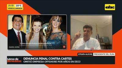 Denuncia penal contra Horacio Cartes