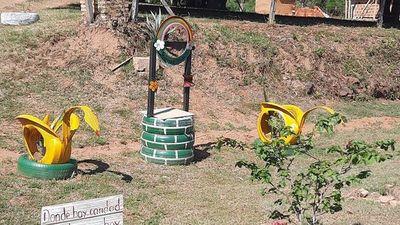 Un jardín de cultura y arte ambiental en Altos
