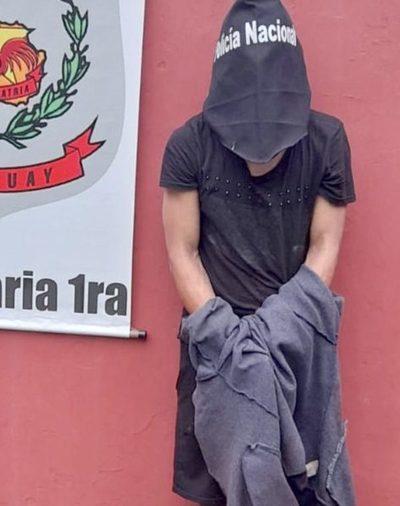 Ladrón es detenido tras robar un televisor de comercio de CDE – Diario TNPRESS