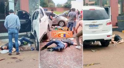 En terrible atentado en PJC asesinan a hija del Gobernador, un presunto narco y otras dos personas