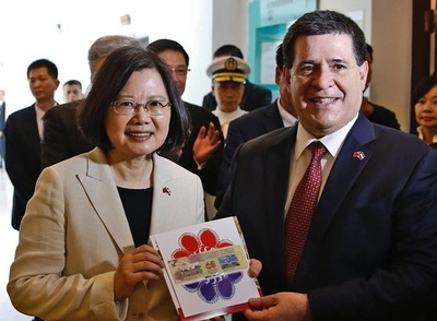 Cartes congratula por el Doble Diez a la presidenta de Taiwán, Tsai Ing-Wen, y al pueblo taiwanés
