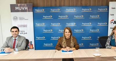 La Nación / Banco Regional, el MUVH y la AFD se unen para cumplir el sueño de la casa propia