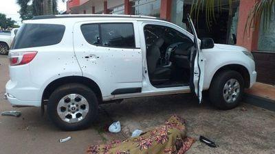 Atentado en Pedro Juan Caballero: matan a hija del gobernador de Amambay y a otras tres personas
