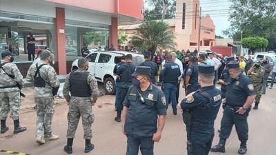 Conductor de camioneta sería el objetivo de atentado en Amambay