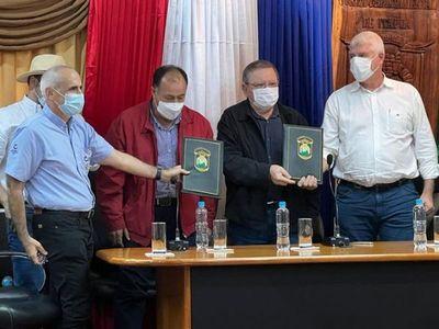 MOPC firmó contrato para empezar la construcción del Gran Hospital del Sur