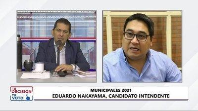 Nakayama afirma que es momento de que la gente se indigne por el robo y la corrupción