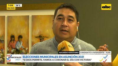 """Municipales 2021: Nakayama confía en que coronarán la victoria y que caso """"Nenecho Papers"""" tuvo impacto en indecisos"""