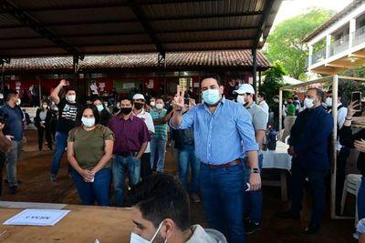 Candidato al rekutú en Villa Elisa augura buena participación y espera cese de violencia