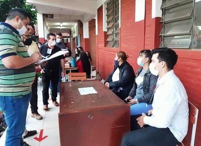 Luque: Arrancaron las elecciones municipales con algunos incidentes •