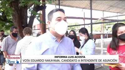 Eduardo Nakayama pidió protección policial