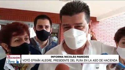 Efraín Alegre afirmó que el sicariato se apoderó de la política
