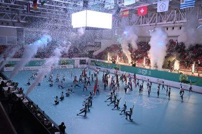 Fiesta completa en el cierre del Mundial de Patinaje Asunción 2021