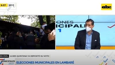 Candidato lambareño revela que hizo campaña en casa de Nenecho