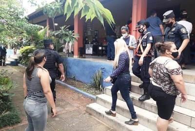Dos personas aprehendidas por delito electoral en Luque •