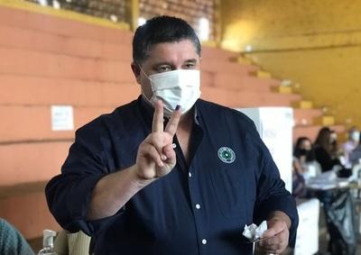 Alcides Riveros pide a fernandinos 'continuar proceso'