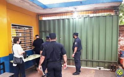 Luque: Sin mayores incidentes, la Policía cierra locales de votación •