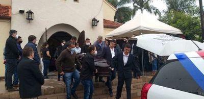 Dan el último adiós a la hija del gobernador de Amambay