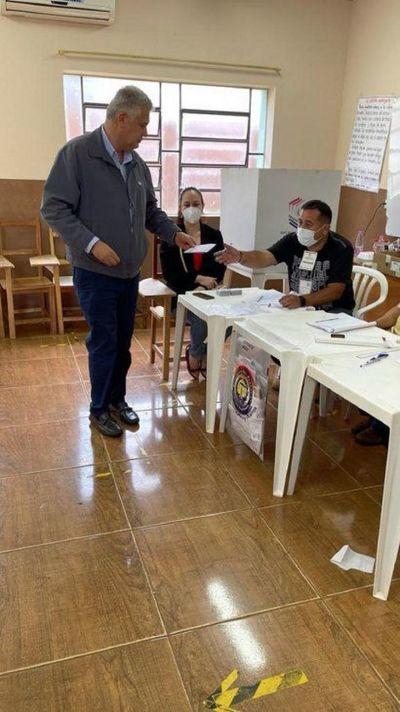 José Carlos Acevedo se impone en Pedro Juan Caballero