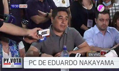 Eduardo Nakayama reconoce su derrota en Asunción