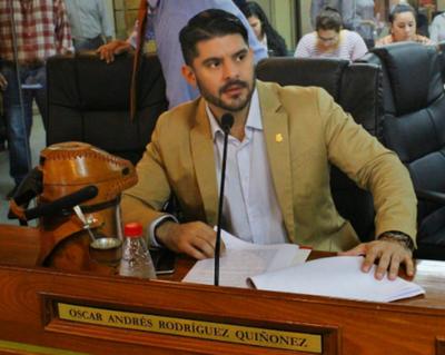 Oscar Rodríguez es el intendente electo de Asunción