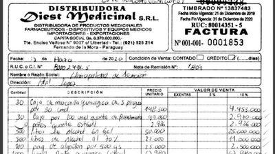Municipalidad hizo millonario pago en tiempo récord por costosos insumos