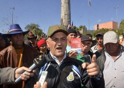Líderes campesinos van a juicio por perjuicio de G. 4.000 millones al Indert