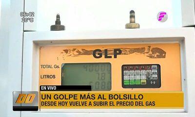 Un golpe más al bolsillo: Aumenta precio del gas y combustible