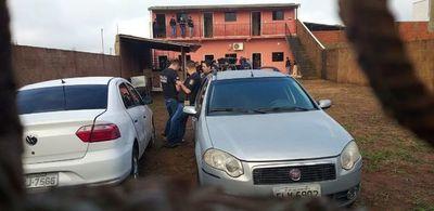 Seis detenidos y tres vehículos incautados en Pedro Juan por el caso del cuádruple homicidio