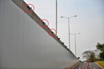 Proponen controles aleatorios ante sucesivos robos de cables en viaductos